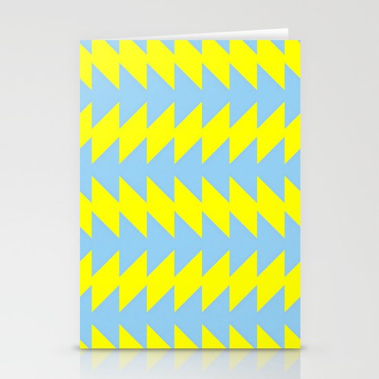 Van Zanen Yellow & Blue Stationery Card