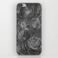 Inverse Contours iPhone & iPod Skin