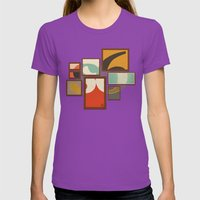 S6 Tee - Frames Womens Fitted Tee Ultraviolet SMALL
