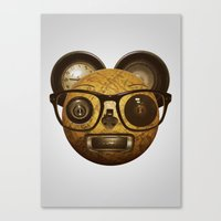 The surprised thing Canvas Print