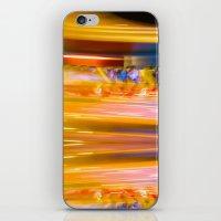 Night Light 131 - Roller… iPhone & iPod Skin