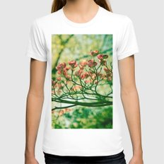In The Limelight Womens Fitted Tee White SMALL