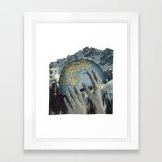 Lift Us. Framed Art Print