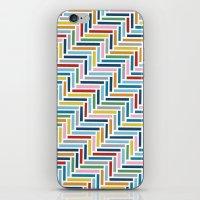 Herringbone 45 Colour iPhone & iPod Skin