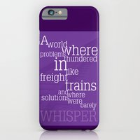 iPhone & iPod Case featuring Thundering Problems And Whispering Solutions by Catherine Boland
