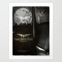 Dark Knight Rises Movie … Art Print