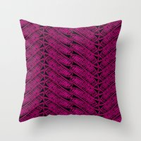 DELONIX 2 Throw Pillow