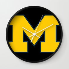 NCAA - University of Michigan Wolverines Wall Clock