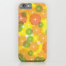 oranges & lemons, grapefruit & lime iPhone 6s Slim Case