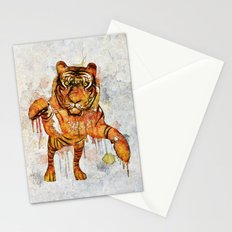 tiger splash ! Stationery Cards