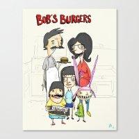 Bob's Burgers Canvas Print
