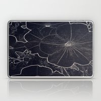 Dark Flowers Laptop & iPad Skin