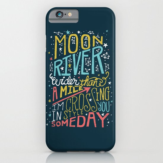 MOON RIVER iPhone & iPod Case