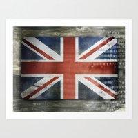 Great Britain, Union Jack Art Print