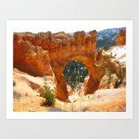 Bryce Canyon - Natural A… Art Print