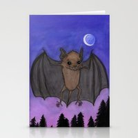 Herman The Little Brown Bat Stationery Cards
