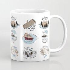 // twin peaks // Mug