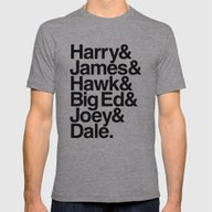 The Bookhouse Boys (Whit… Mens Fitted Tee Athletic Grey SMALL