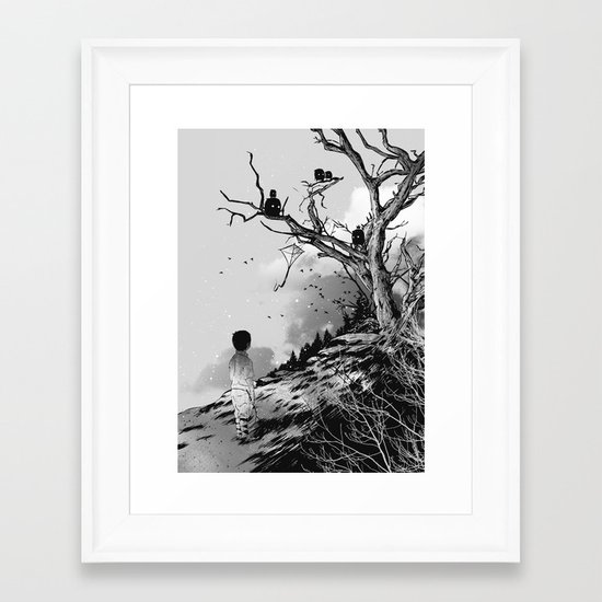 Welcome, Stranger! Framed Art Print