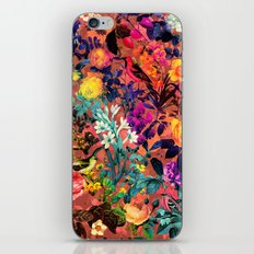 Floral and Birds II iPhone & iPod Skin