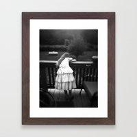 Drama Queen Framed Art Print