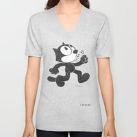 Felix The Cat Unisex V-Neck