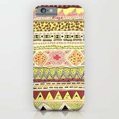 Pizza Pattern Slim Case iPhone 6s
