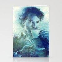 tea Stationery Cards featuring Tea by Anna Dittmann