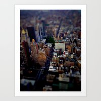 New York city Art Print