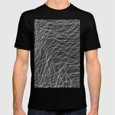 Don`t Move VIII (Bw version) Mens Fitted Tee Black SMALL