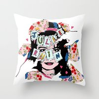 JuLiE RuiN!!! Throw Pillow