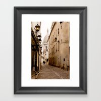 A Walk To The Sacré Coe… Framed Art Print