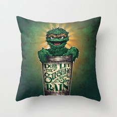 Don't Let The Sunshine R… Throw Pillow