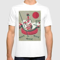 Calaverita Mens Fitted Tee SMALL White