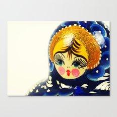 Babushka nesting doll Canvas Print