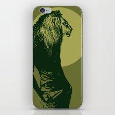 leone pistacchio iPhone & iPod Skin