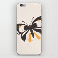 Gungry Butterflies iPhone & iPod Skin