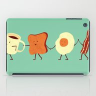 iPad Case featuring Let's All Go And Have Br… by Teo Zirinis