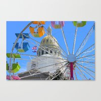 Capital Building, Denver Colorado Canvas Print