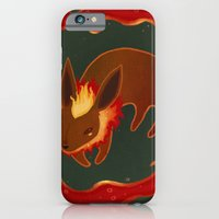 iPhone & iPod Case featuring Flareon by Fran Court
