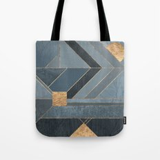 Nordic Blue Tote Bag
