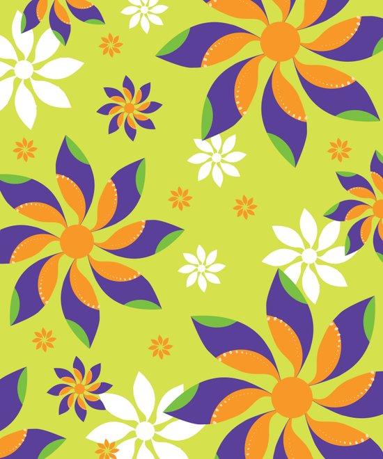 Flowerswirl Art Print