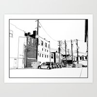 bloomington II Art Print