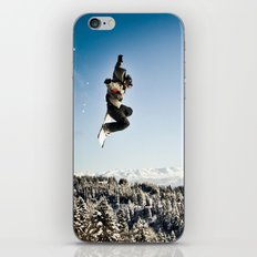 Snowbaorder iPhone & iPod Skin