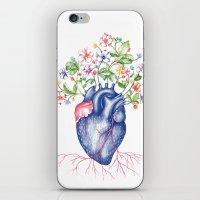 Strawberry Heart  iPhone & iPod Skin