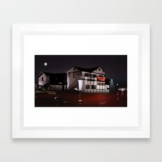 The Road House Framed Art Print