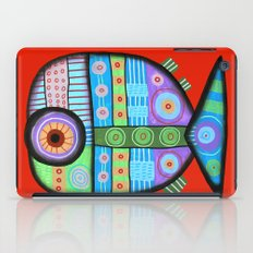 Fish which ate ship iPad Case