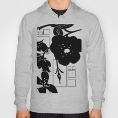 Flowers And Squares Hoody