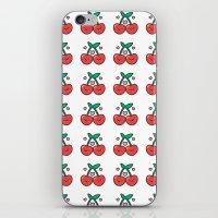 Cherry Pattern iPhone & iPod Skin