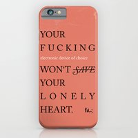 YOUR LONELY HEART iPhone 6 Slim Case